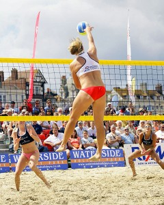 how to spike a volleyball