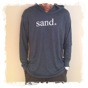 volleyball hoodie sand by orvin